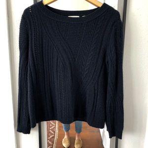 INHABIT cashmere knit sweater Petite/Small